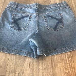 High Waisted Lane Bryant shorts